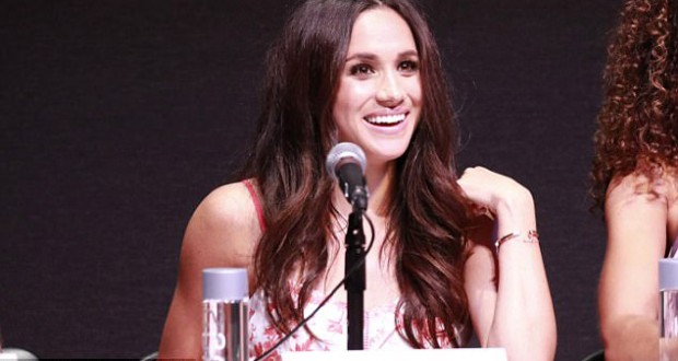Meghan Markle keeps quiet on whether she hopes to marry Prince Harry during Suits script read-through