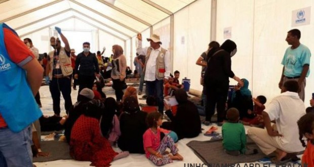 People hit by food poisoning in Iraq camp for the displaced near Mosul