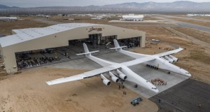 Stratolaunch rolls out world's largest aircraft
