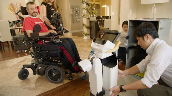 Toyota Built Robot To Help Paralyzed Army Vet With Tasks Around Home
