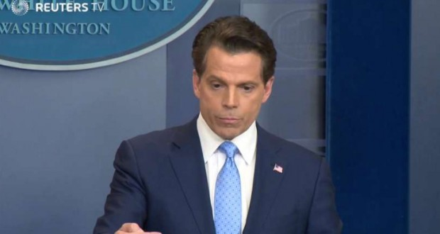 Trump Fires Communications Director Scaramucci, Just Ten Days After Appointment