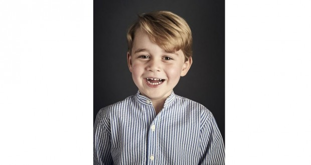 Prince George Is Four: Royal Family Releases Adorable Official Portrait