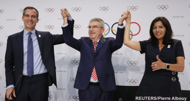 Paris And Los Angeles To Host Summer Olympic Games in 2024, 2028