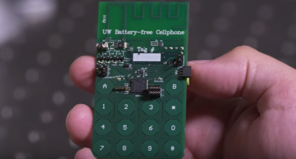 World's First Battery-Free Cellphone Created