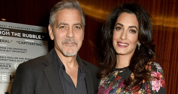 George Clooney Threatening To Sue French Magazine For Twins' Photos