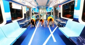 Taiwan Subway Transformed Into Sports Venues To Celebrate Upcoming Summer Universiade