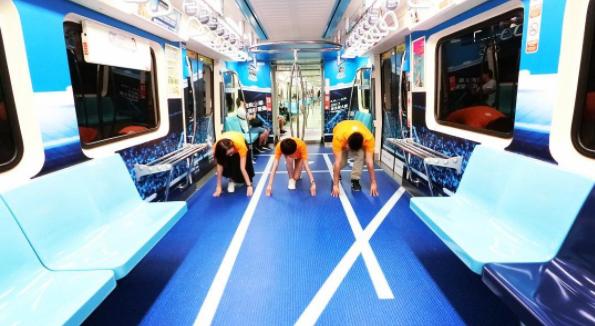 Taiwan Subway Transformed Into Sports Venues To Celebrate Upcoming Summer Universiade