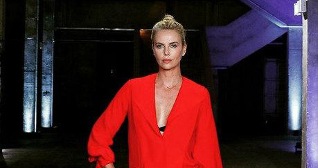 Charlize Theron Visits South Africa To Support Her Charity Programme