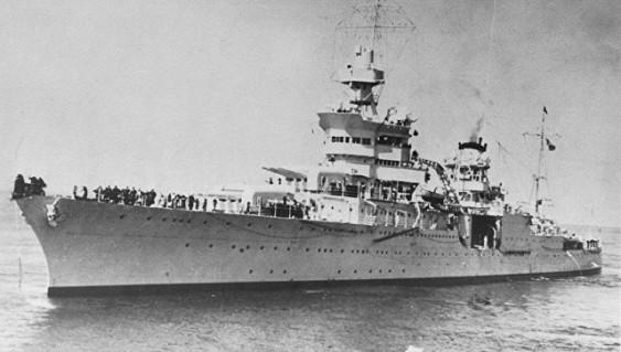WWII USS Indianapolis, Lost For 72 Years, Found On Pacific Ocean Floor